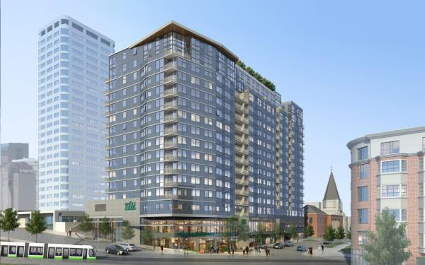 Columbia Pacific Starts Construction on 265-Unit Danforth Luxury Apartment Tower in Seattle