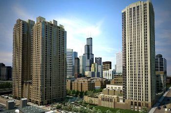 Luxury High-Rise Apartment Community in Downtown Chicago Provides Electric Vehicle Charging to Residents