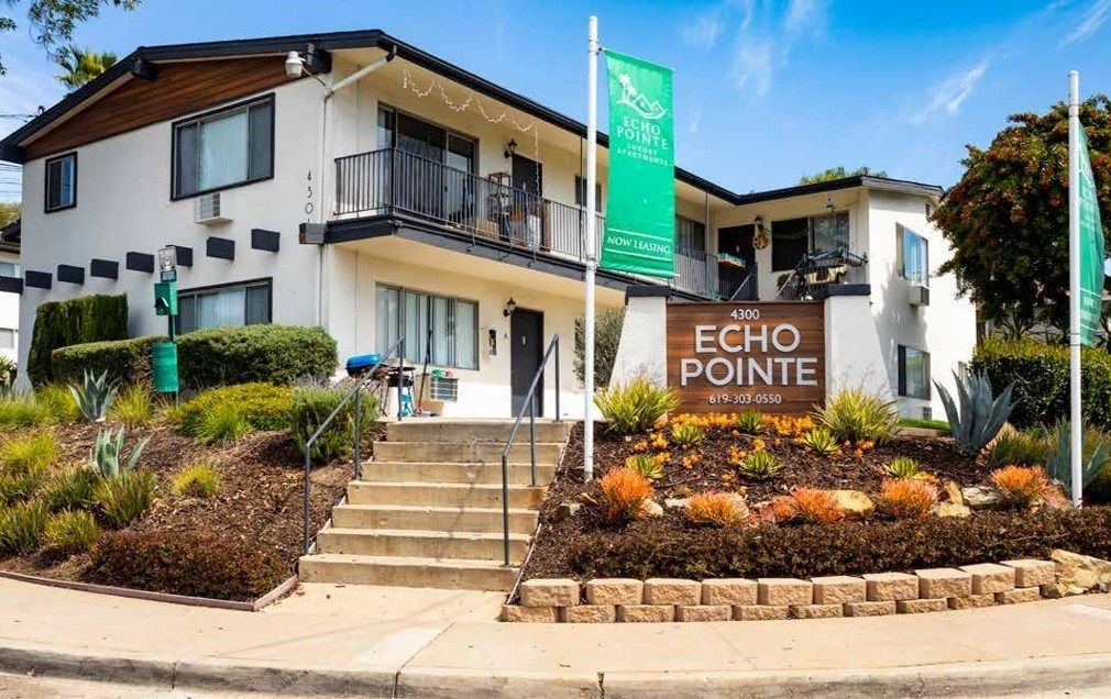 Bascom Group Expands Presence in San Diego Area with Acquisition 80-Unit Echo Pointe Apartment Community in La Mesa, California