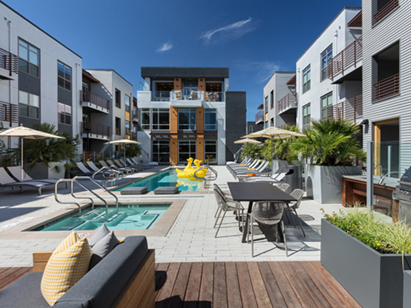 New KTGY-Designed Elan Menlo Park Luxury Apartment Community Opens in Silicon Valley