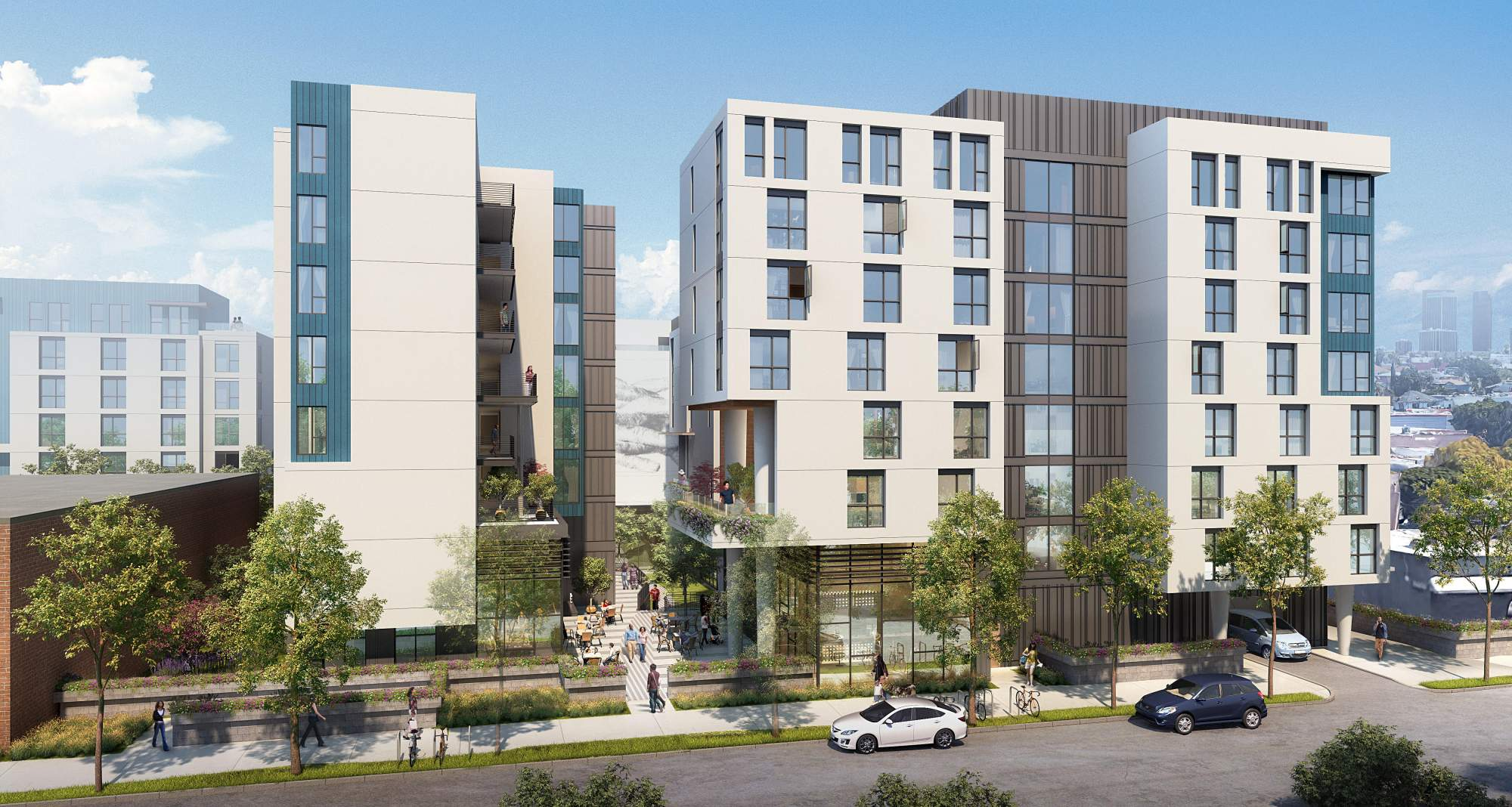 Permanent Supportive Housing Community in Los Angeles' Rampart Village Neighborhood Gains Planning Commission Approval