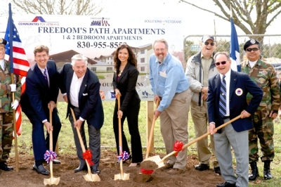 FHLB Dallas $500k Grant Helps Kicks-Off Construction of Affordable Housing Project for Disabled Veterans