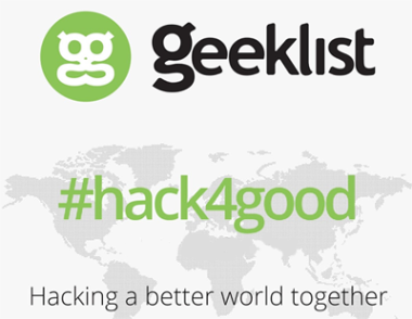 365 Connect to Help Make the World a Better Place with Sponsorship of Geeklist #Hack4good Event