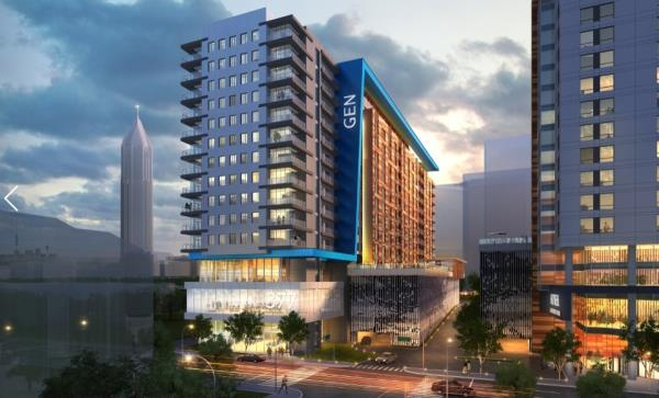 Kaplan Residential Breaks Ground on High-Profile 336-Unit Generation Atlanta Development