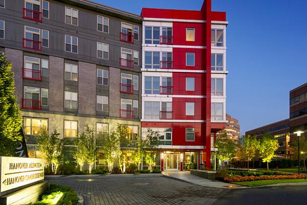 Hanover Company Secures LEED Certification for Luxury New Apartment Community in Cambridge