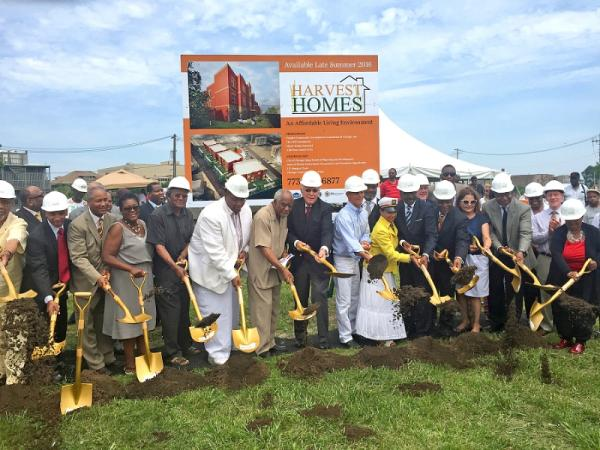 Construction on New Affordable Housing in Chicago's East Garfield Park Made Possible by LIHTC Program