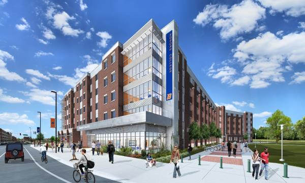 Boise State University and EdR Break Ground for New Honors College and Residence Hall