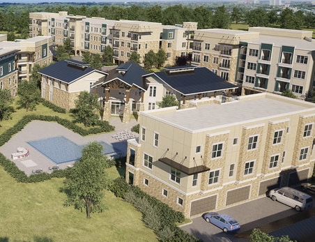 JPI Redefines Multiuse Development with Construction of New 364-Unit Multifamily Community