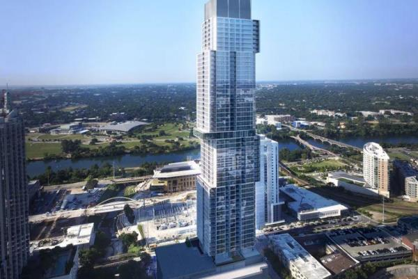 CIM Group Completes Construction of 58-Story The Independent Condominium Tower in Austin, Texas