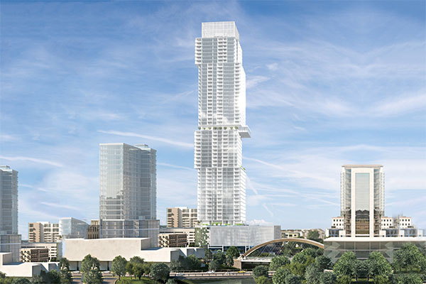 Proposed 58-Story Condo Tower will Be Tallest Residential Building West of the Mississippi River
