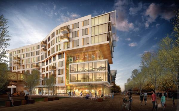 CIM Group Tops Out 333-Unit Apartment Building at Jack London Square in Oakland, California
