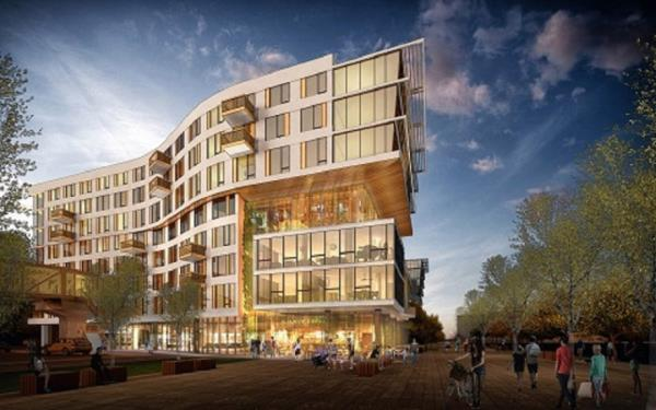 CIM Group Starts Construction of 333-Unit Apartment Building at Jack London Square in Oakland