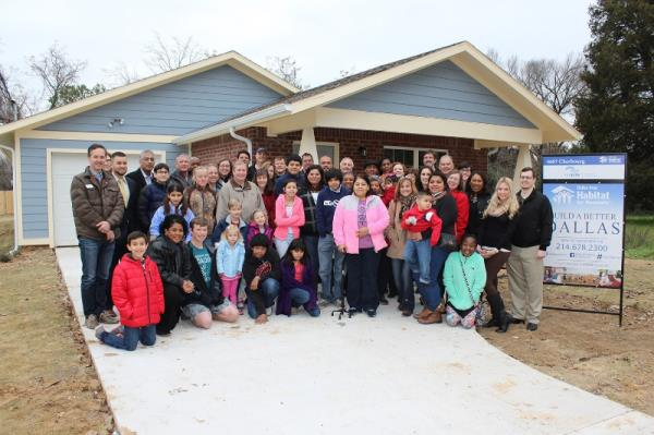 Federal Home Loan Bank of Dallas Celebrates Dedication of Joppa Neighborhood Home