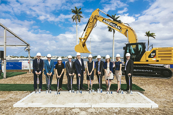 Great Gulf Breaks Ground on LA CLARA Condominium Luxury Residences in West Palm Beach, Florida