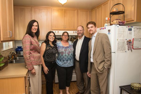 LINC Housing and The Community Development Trust Celebrate Affordable Housing Renovation