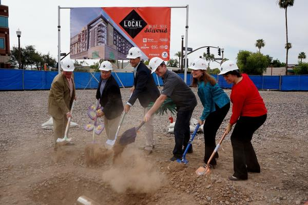 Mixed-Use Development Anchored by Whole Foods Market 365 Breaks Ground in Downtown Tempe