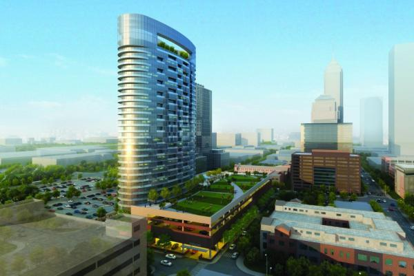 Luxury Mixed-Use Residential Apartment Tower Set to Break Ground in Downtown Indianapolis