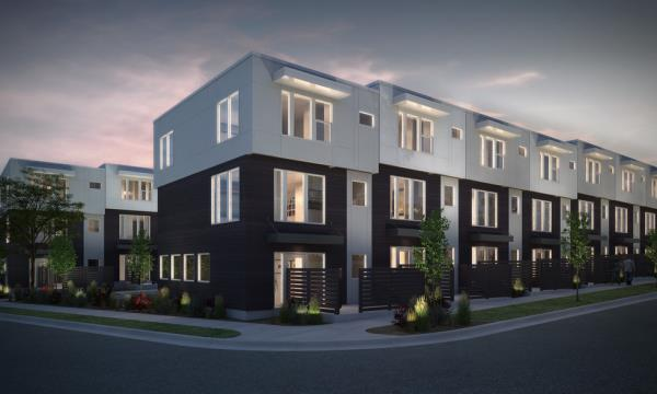 J. Fisher Companies Completes Luxury Multifamily Townhome Development in Salt Lake City