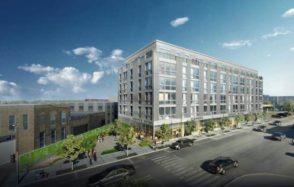 Multifamily Community in Chicago's Newest Transit Oriented Location Achieves LEED Certification