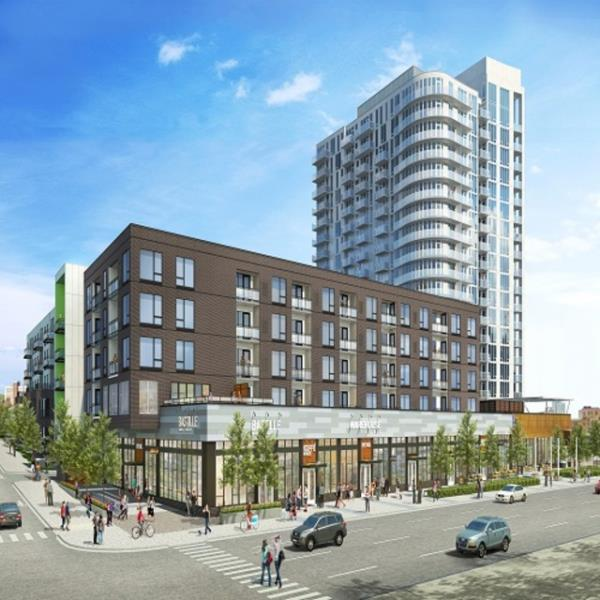 LMC Tops Off 280-Unit NordHaus Mixed-Use Apartment Community in Northeast Minneapolis