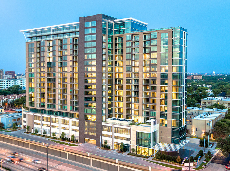 Grand Opening Held at 310-Unit Novē at Knox Luxury High-Rise Apartment Building in Dallas Marked Final Milestone of Development
