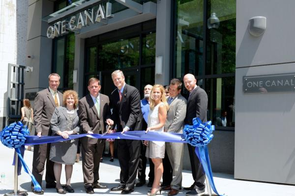 Aimco Celebrates the Grand Opening of Its $195 Million One Canal Apartment Building in Boston