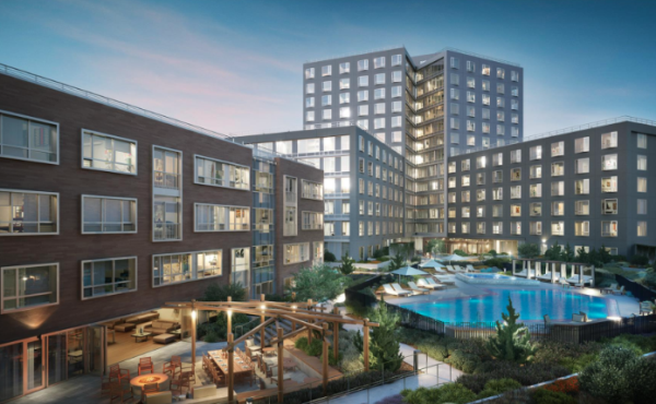 CIM Group Tops Out 350-Unit One Mission Bay Residential Community in Hot San Francisco Market