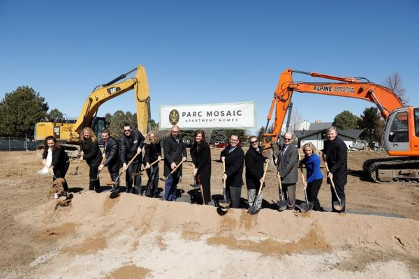Aimco Breaks Ground on New 226-Unit Sustainable Design Apartment Community in Boulder