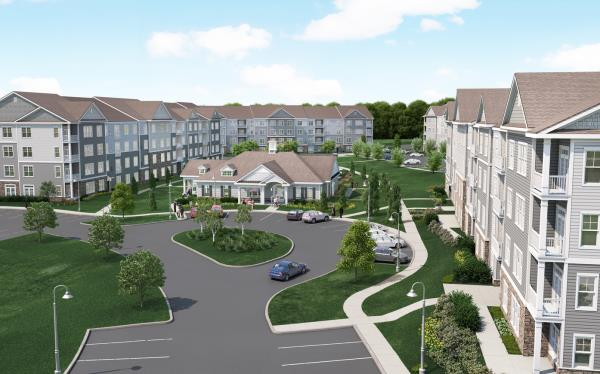 Toll Brothers Opens 249-Unit Ultra Luxury Apartment Community in Boston Market Area