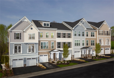 Basheer & Edgemoore's Potomac Crest Hits Market Sweet Spot with Innovative 3-Level Townhome Design