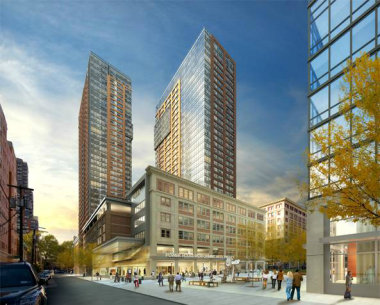 Toll Brothers and AECOM Announce Development of 417-Unit Luxury Apartment Tower in Jersey City, NJ