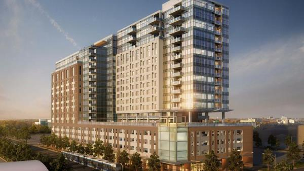 Weitz Tops Out 18-Story Luxury Apartment High-Rise in Downtown Denver for Lennar Multifamily Communities