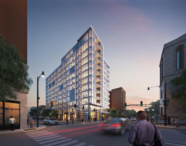 CRG Starts Construction on Multifamily Building in Historic Uptown Chicago Neighborhood