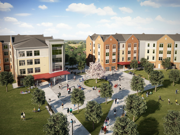 Campus Apartments Completes Phase II of New Student Housing Construction at Shippensburg University