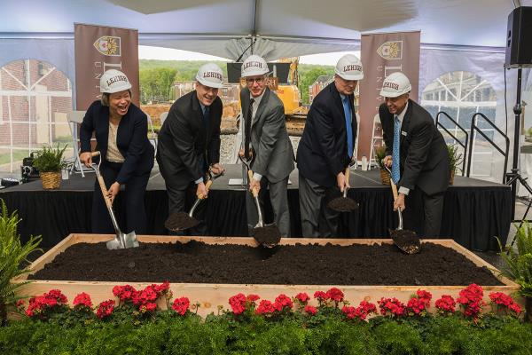 EdR and Lehigh University Celebrate Groundbreaking of 428-Bed Student Housing Community