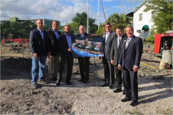 Stellar Homes Group Breaks Ground on Luxury Waterfront Townhome Community in Ft. Lauderdale
