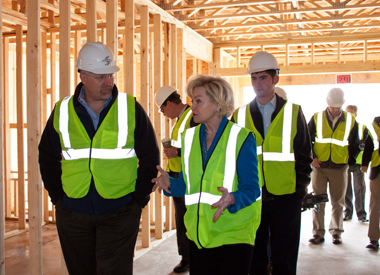 New Affordable Senior Living Facility Gets Special Visit