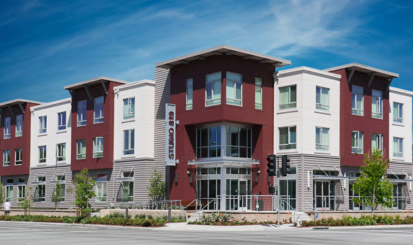 Mixed-use Studio Apartment Community Awarded LEED Platinum Rating in Mountain View