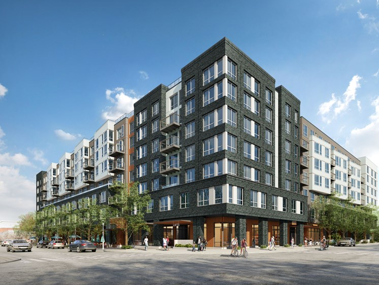 Lowe Completes Development of First Apartment Building at Redmond Town Center