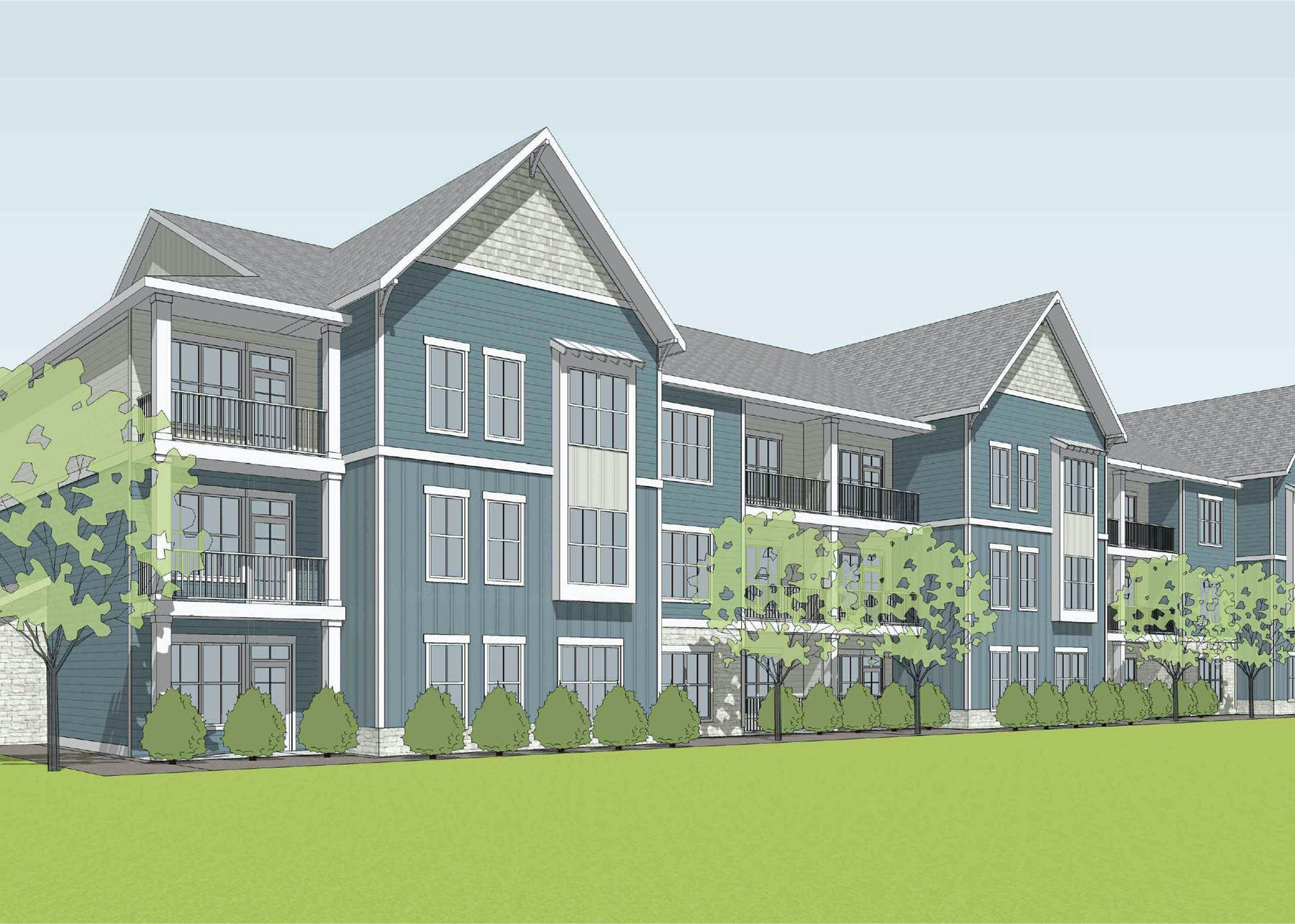 Watermark Residential to Develop 276-Unit Taylor Farms by Watermark Luxury Multifamily Community in Charlotte, North Carolina