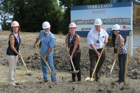Transcontinental Realty Investors Breaks Ground on 447-Unit Terra Lago Apartments in Rowlett, Texas