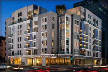 Westside Living Meets Hotel Amenities at the bw, a New Luxury Community at Wilshire and Barrington