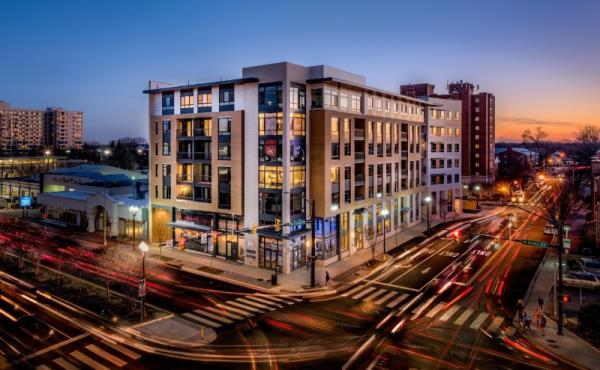 Washington REIT's New 163-Unit Luxury Apartment Community Experiences Brisk Lease-Up