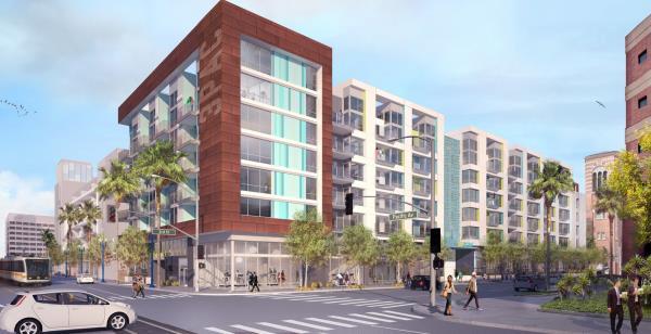 Sares Regis Breaks Ground on Three Apartment Communities in Downtown Long Beach, California