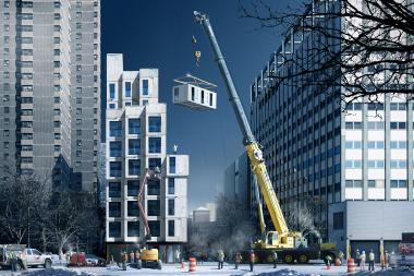Modular Apartment Building The Stack Recognized as Potential Solution for Affordable Housing in NYC