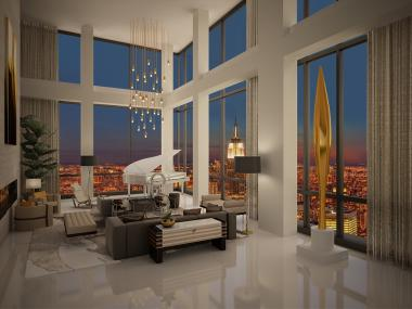 Ultra-Luxury Condominium Project Trump SoHo New York Unveils $50 Million Presidential Penthouse