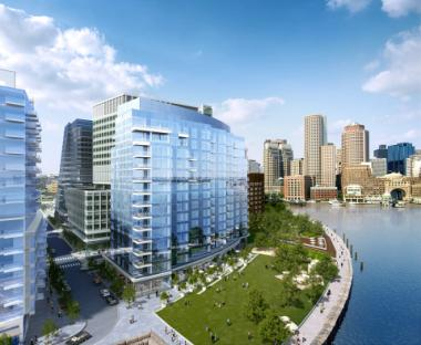The Fallon Company Unveils Architectural Renderings of New Luxury Residences on Boston's Waterfront