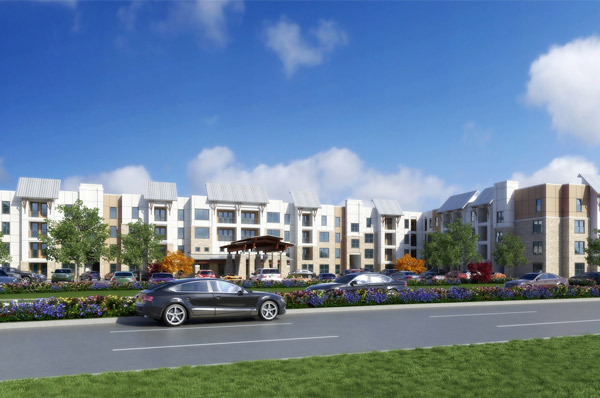 Construction Begins on 243-Unit Amenity-Rich Active Adult Apartment Community in Dallas Suburb