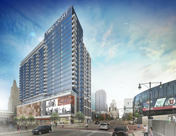 The Cordish Companies Celebrates Major Milestone with Topping Out of Luxury Apartment Tower