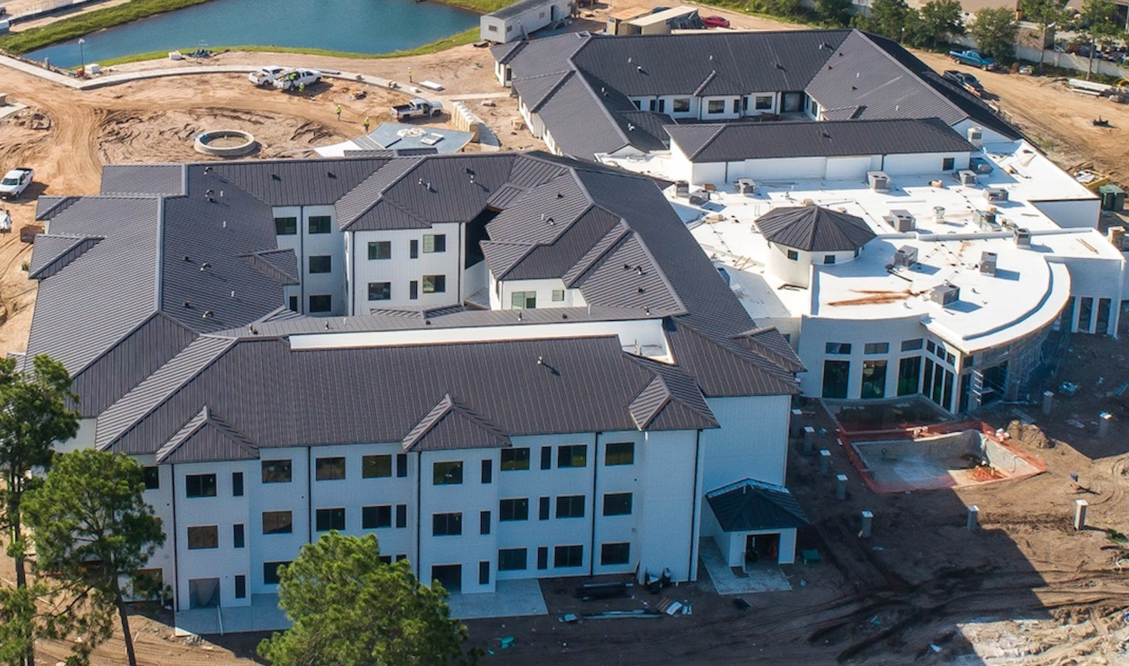 Construction Steadily Advances at 107-Unit Watercrest Santa Rosa Beach Assisted Living and Memory Care in Florida